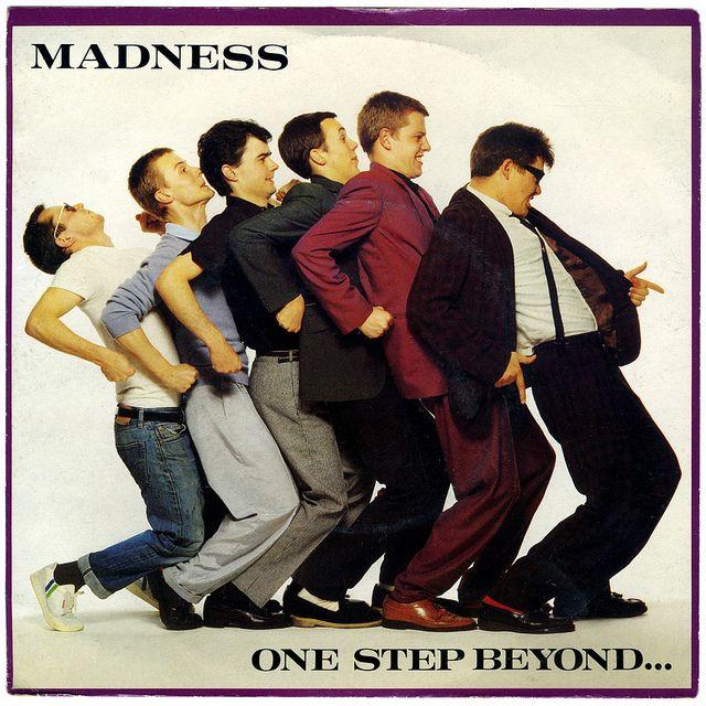 One Step Beyond b/w Mistakes Madness, Stiff Records/UK (1979)