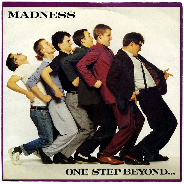 One Step Beyond b/w Mistakes Madness, Stiff Records/UK (1979)