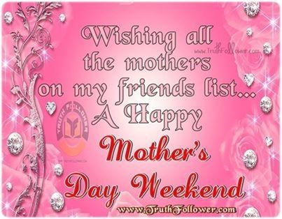 Happy Mother's Day Weekend mothers day happy mothers day happy mothers day pictures mothers day quotes mothers day comments happy mother's day quotes