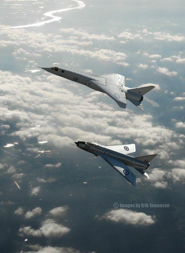 TSR-2 y BAE Lightning