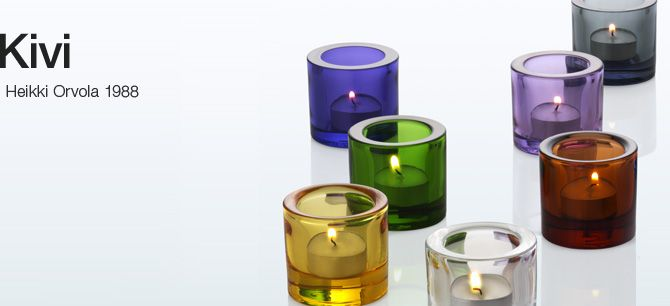 Iittala - Products - Decorating - Kivi Votive, so versatile, so simple - delicious in multiples