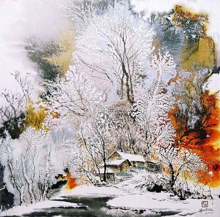 Bai Haoran-the trees are so detailed.  Great job!