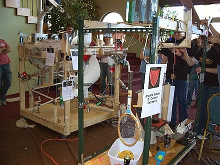 Rube Goldberg Machine Contest - Wikipedia