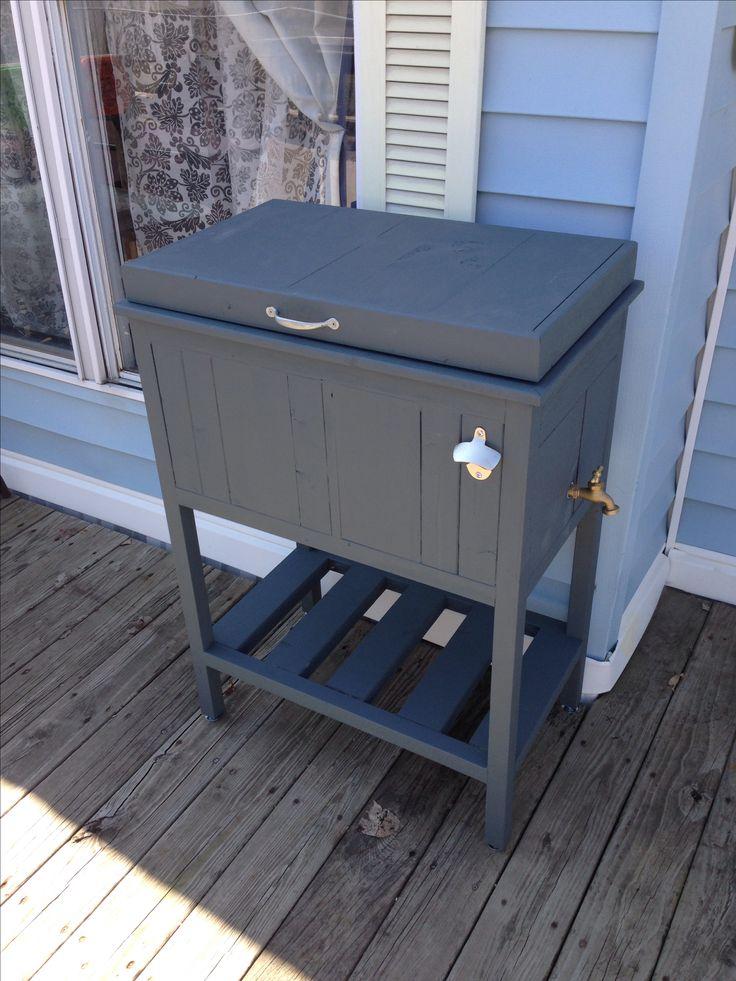 Best 25+ Cooler stand ideas on Pinterest | Pallet cooler ...