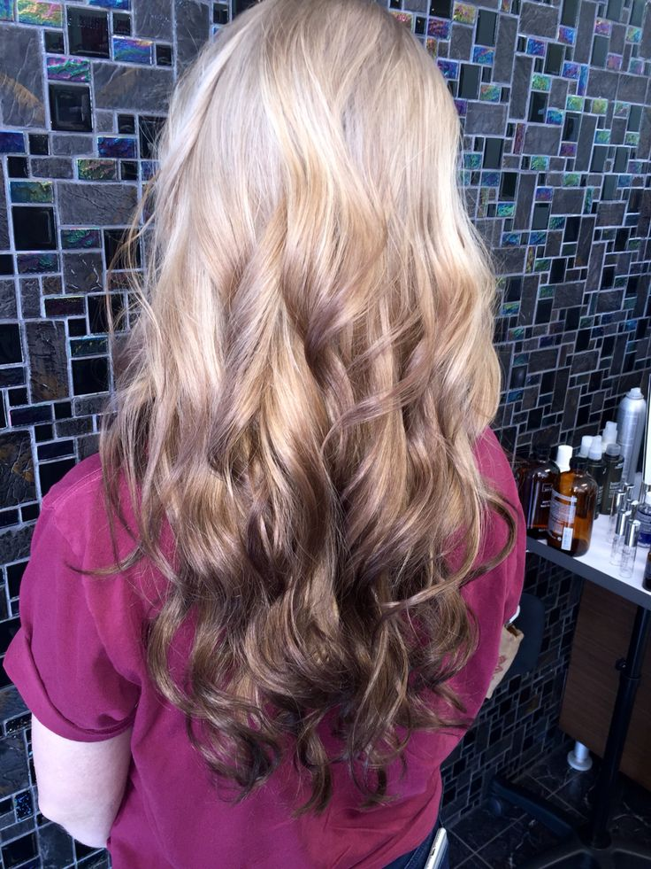 Reverse Ombr 233 Reverseombre Ombre Balayage Hair