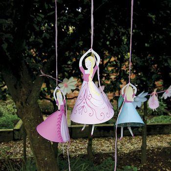 princess party balloon holders by little ella james | notonthehighstreet.com