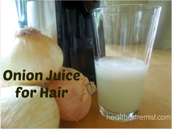 Reverse greying hair and treat hair loss with onion juice. Onion juice for hair growth has been shown effective. Onion juice for hair treatment increases catalase