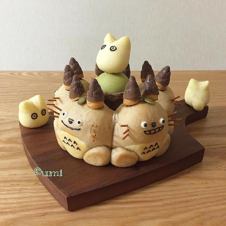 "Japanese ""Chigiri-Pan"" Trend Creates 3D Character Bread Too Cute to Eat - My Modern Met"