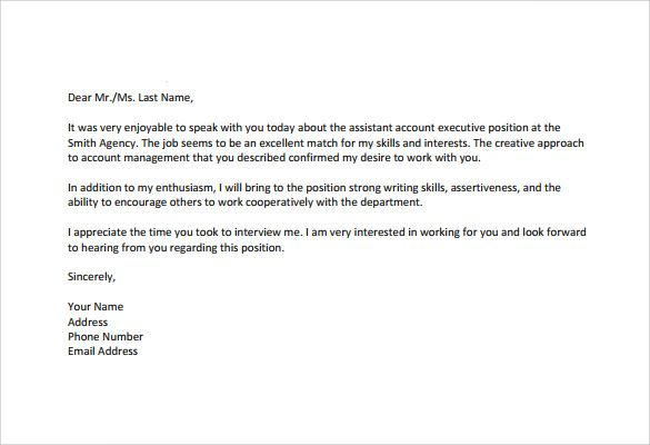 Follow Up Interview Email Sample Interview Follow Up Email Account Executive Interview