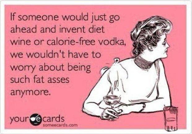 wine, vodka, funny
