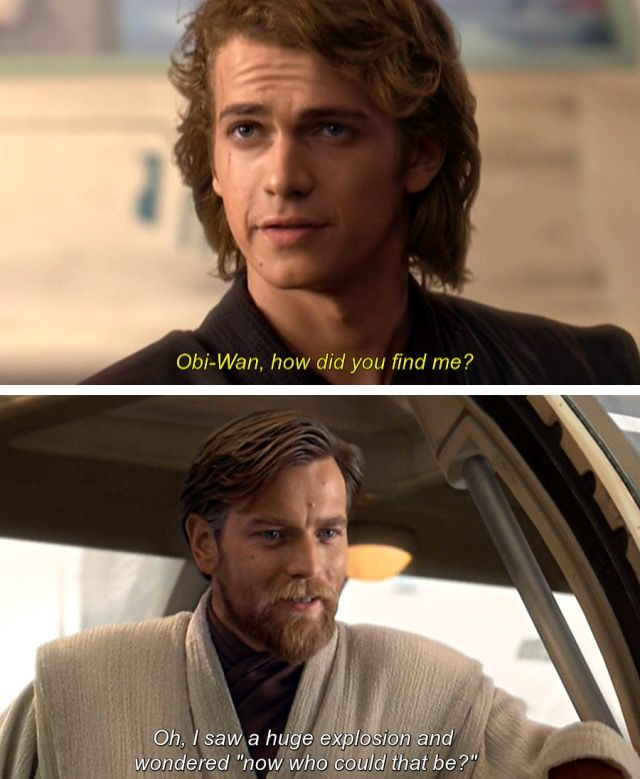 Incorrect Star Wars quotes                                                                                                                                                                                 More