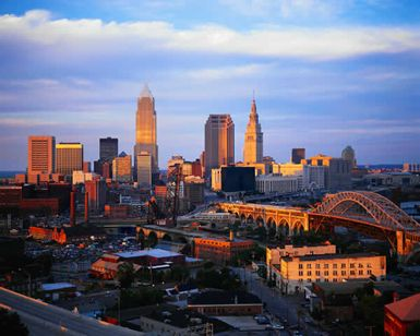 Cleveland, OH is our favorite city. There's so much to see and do! Each time we go we do something different. Never, ever boring in Cleveland.