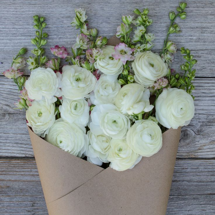 Marshmallow Flower Bouquet – The Bouqs Company