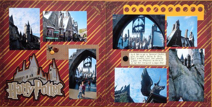 Harry Potter's Wizarding World - Scrapbook.com