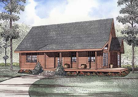 25 best seeking the perfect house images on pinterest for Traditional log cabin plans