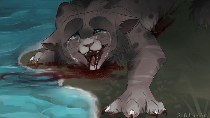 Ashfur's death REMAKE by SafulousArt.deviantart.com on @DeviantArt