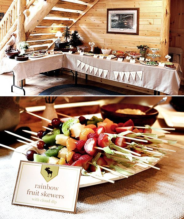 This website is incredible!! Seriously! I LOVE the Rustic & Cozy Forest Whimsey Baby Shower!!! The lemonade is looks so good! so does the food!
