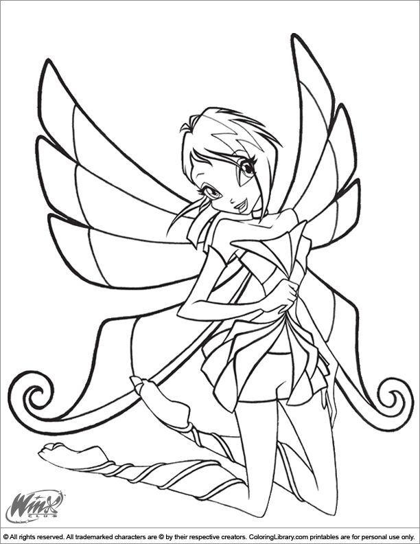 22 best Wind club images on Pinterest  Winx club Adult coloring