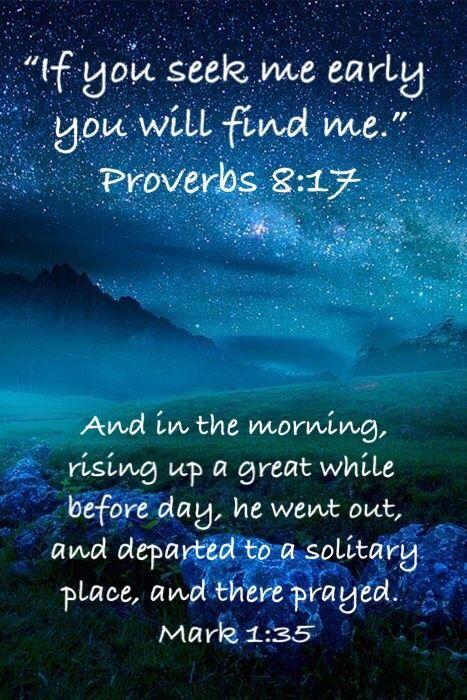 Mark 1:35 | JESUS, My Lord and Savior | Best bible verses