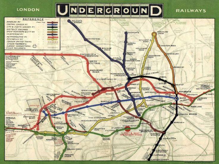 Se você já teve oportunidade de usar o metrô de Londres, já teve nas mãos um mapa desenhado por um designer gráfico, o interessante é que este designer era um engenheiro chamado Harry Beck que trabalhava no metrô e que resolveu estudar nas horas vagas uma