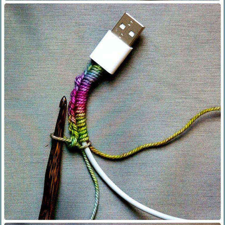 13 idées pour customiser vos câbles et clés USB - Marie Claire Idées
