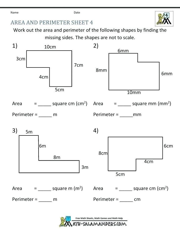 Perimeter Worksheets For 3rd Grade 3rd Grade Perimeter And Area Worksheets Dailycrazynews In 2020 Perimeter Worksheets Word Problem Worksheets Math Worksheets