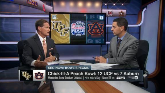 SEC Network's Gene Chizik sizes up No. 12 UCF and what the Tigers need to do for a Peach Bowl win.
