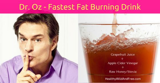 """Dr. Oz's """"Swimsuit Slim Down Drink"""" Breaks Down Fat Faster Than Anything (Recipe Here)"""