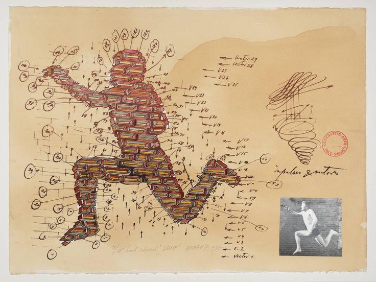 Paul Neagu 'Jump', 1977 © Estate of Paul Neagu