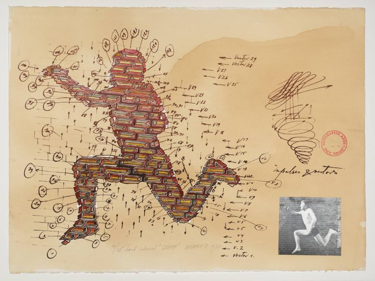Paul Neagu 'Jump', 1977 © Estate of Paul Neagu