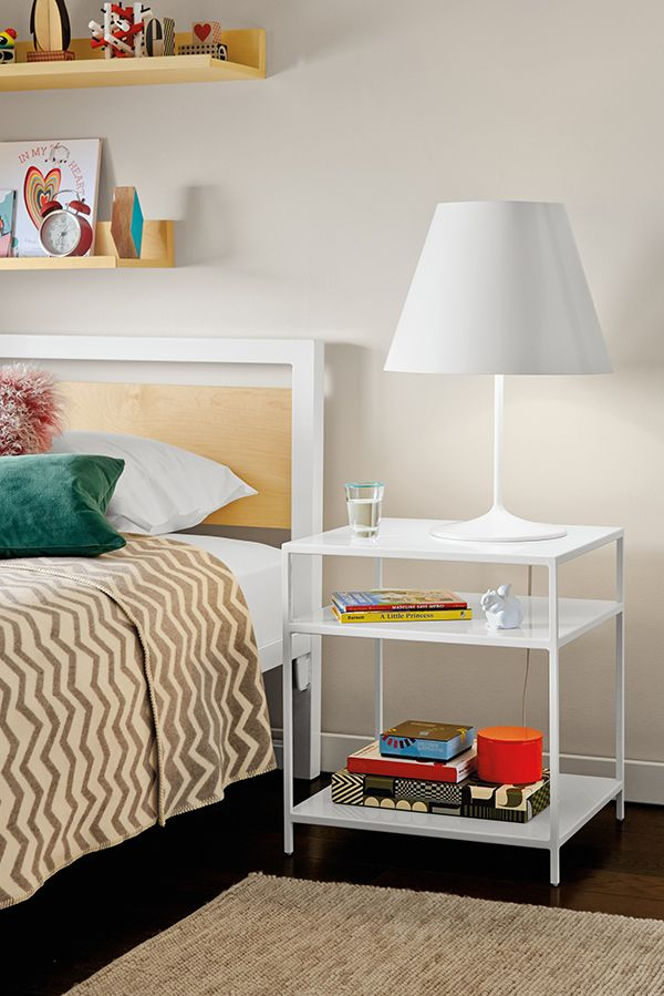 A Room U0026 Board Classic, The Slim End Table Offers A Balance Of Grace And