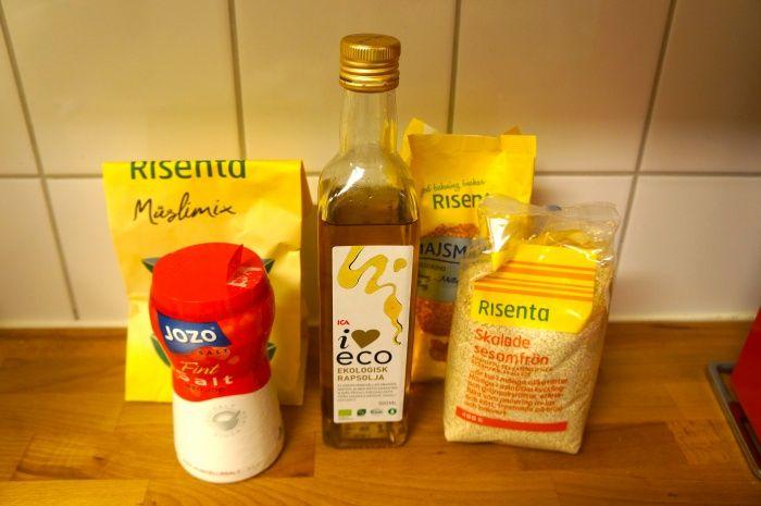 Recept på knäckebröd