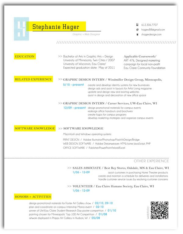 22 best Web Resumes images on Pinterest Career, Online resume - find my resume