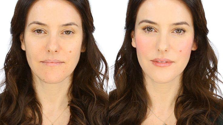 (Excellent Low-Key Makeup Tutorial): Minimal Makeup Tutorial - Rosy Flush by Lisa Eldridge (1.25 to 10.30 mins)