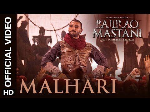 ::Favorite dance number of this movie!!::  Malhari Official Video Song | Bajirao Mastani | Ranveer Singh - YouTube