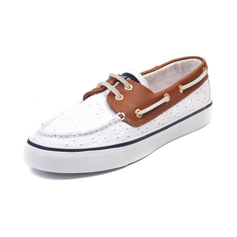 shop for womens sperry top sider bahama boat shoe in white
