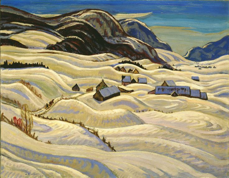 A.Y. Jackson (1882 - 1974), Road to Baie St. Paul, 1933, oil on canvas, 64.4 x 82.2 cm, Purchase 1968 with funds donated by C.A.G. Matthews, 1968.20