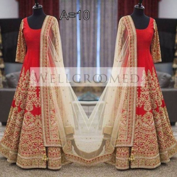 Mindbloing Red Color Heavy Zari Work Embroiderey Work Semi Stitch Gown at just Rs.2475/- on www.vendorvilla.com. Cash on Delivery, Easy Returns, Lowest Price.
