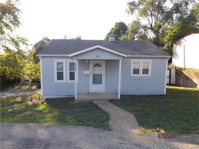 Take a look at this modest but adorable 2 bedroom, 1 bathroom home. This home would be a perfect starter home for a new family starting out, or an excellent rental for the investor looking for additional income. The home has several updates including vinyl siding, roof (2015), water heater (2017), and additional insulation (2014). The living room has a hard wood floor with carpeting in the bedrooms, and vinyl in the kitchen in bathroom. This property is priced to sell in Potosi MO