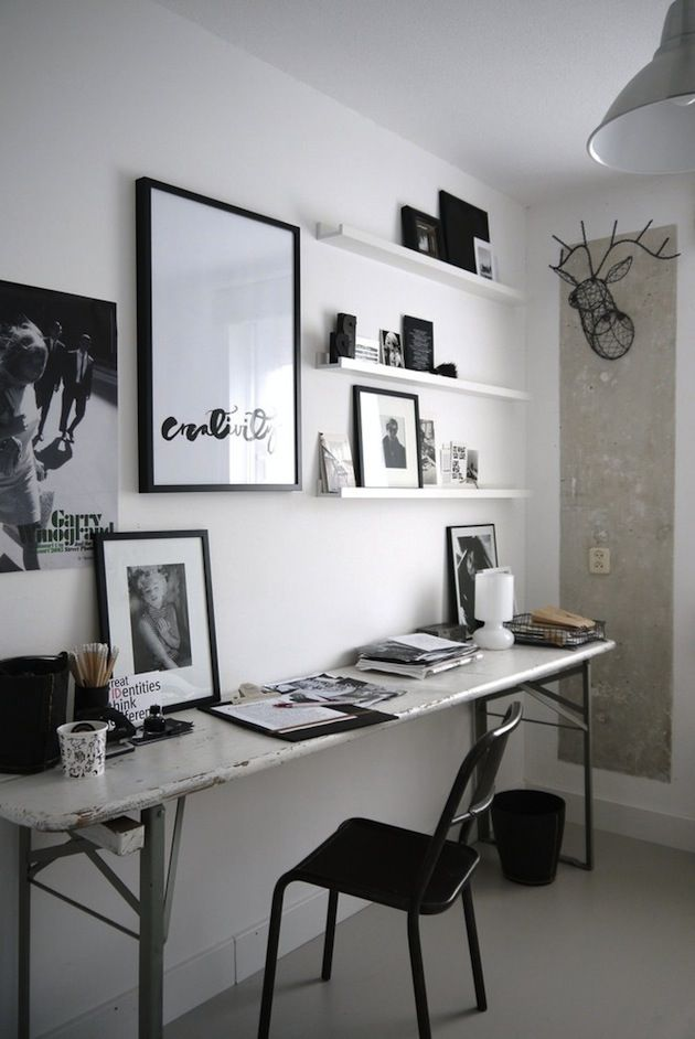 20 Perfectly Paired Black and White Rooms   Inthralld