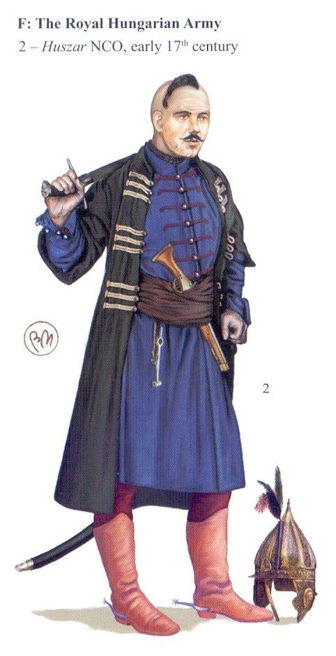 Magyar huszár 17.századi