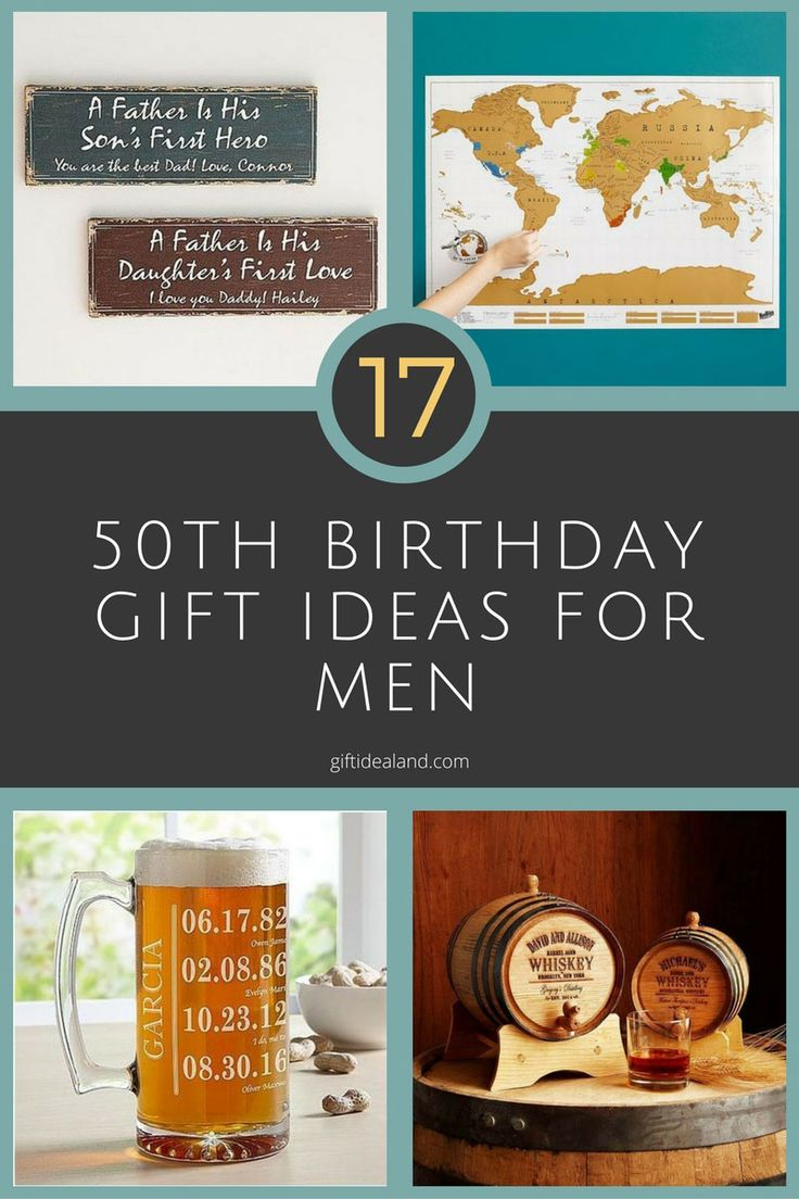 17 good 50th birthday gift ideas for him dads 50th birthday gifts and birthdays - Birthday party theme for men ...