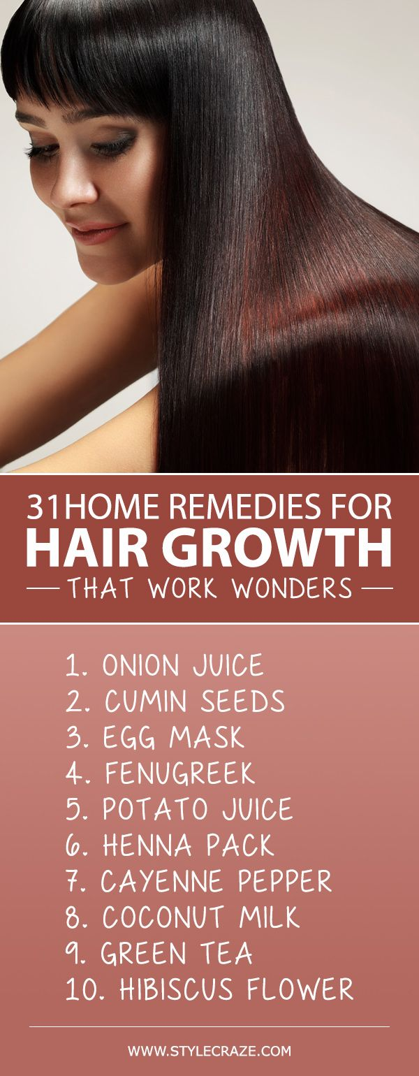 31 Powerful Home Remedies For Hair Growth That Work Wonders