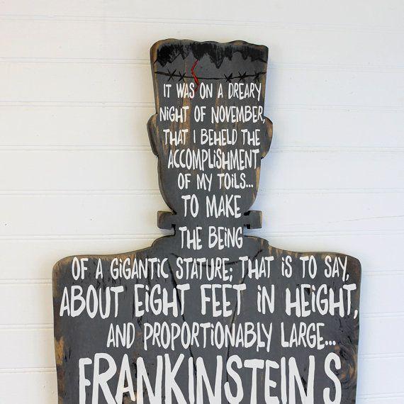 Best 25+ Frankenstein Quotes Ideas On Pinterest