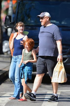 nice About Louis CK Wife & Daughters
