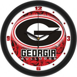 NCAA - Georgia Bulldogs Dimension Wall Clock