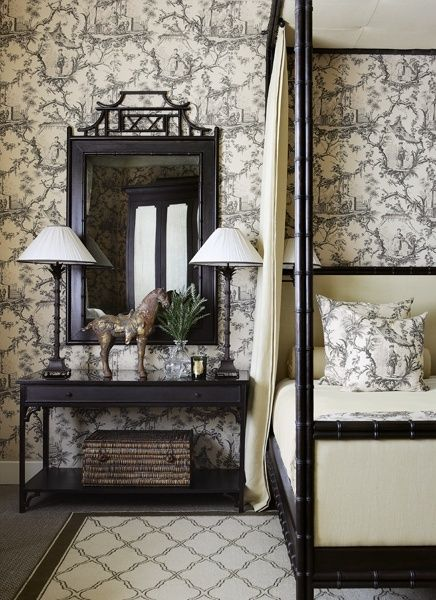 Chinoiserie Chic From The Virtual Builder Bedroom
