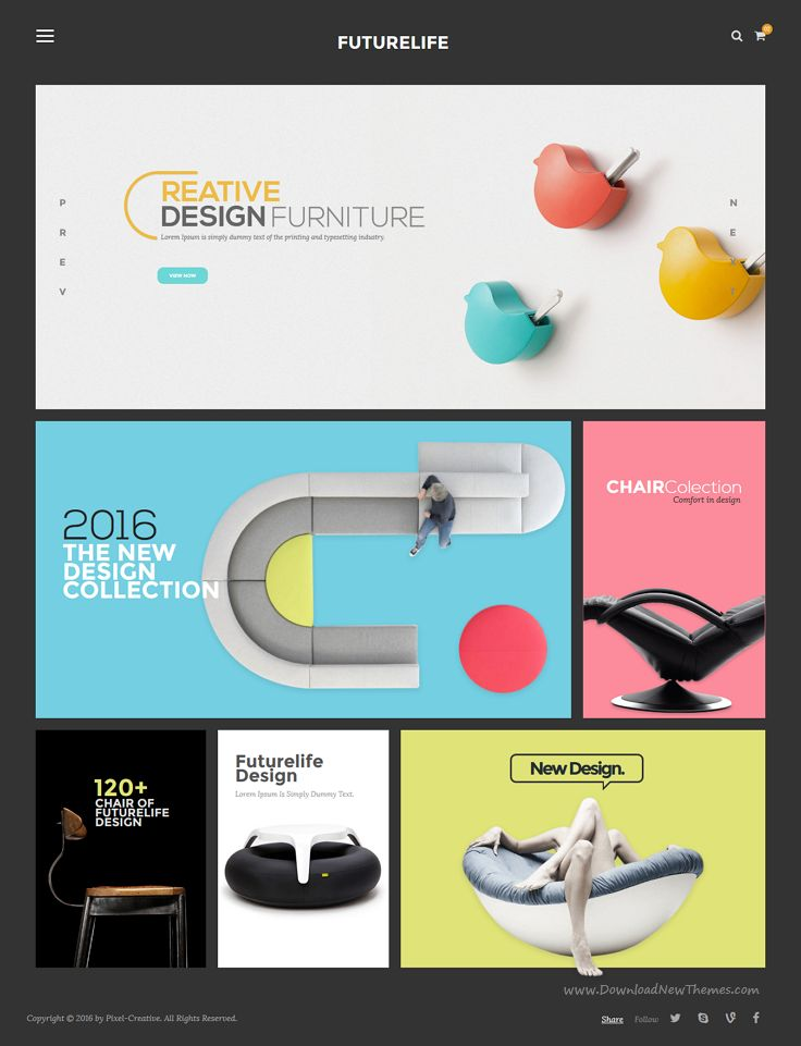 Futurelife is modern and trendy design 5 in 1 #Bootstrap HTML Template for #interior #store eCommerce website download now➯ https://themeforest.net/item/futurelife-ecommerce-html-template/16867248?ref=Datasata