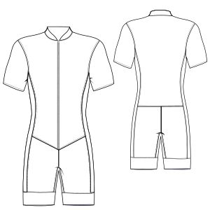 Speed Suit sewing patterns