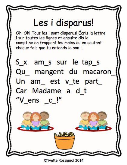 Les enfants adorent cette comptine et la grande variété d'activités de littératie qui l'accompagne!